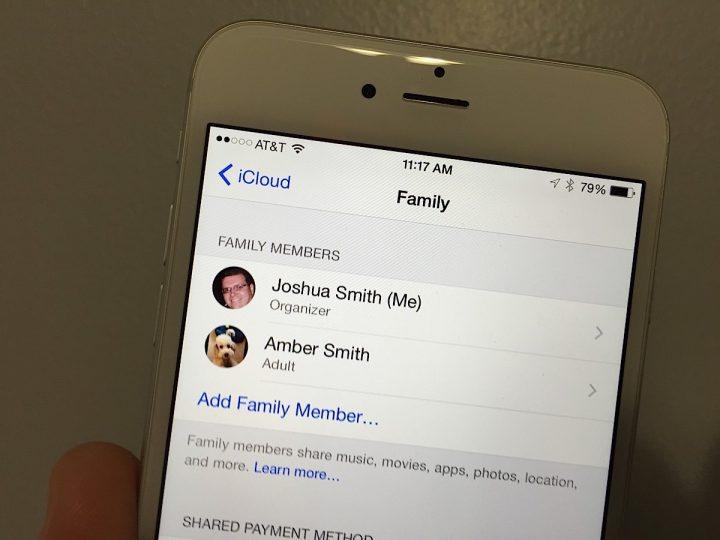 Apple Music Family Plans