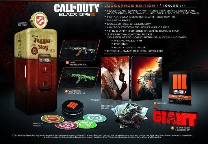 What to expect from the Call of Duty: Black Ops 3 Juggernog edition.