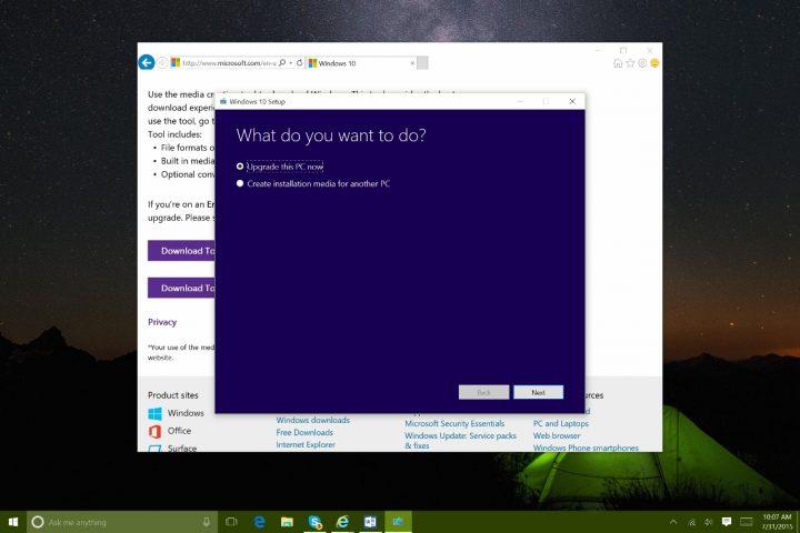 Download Windows 10 now (2)
