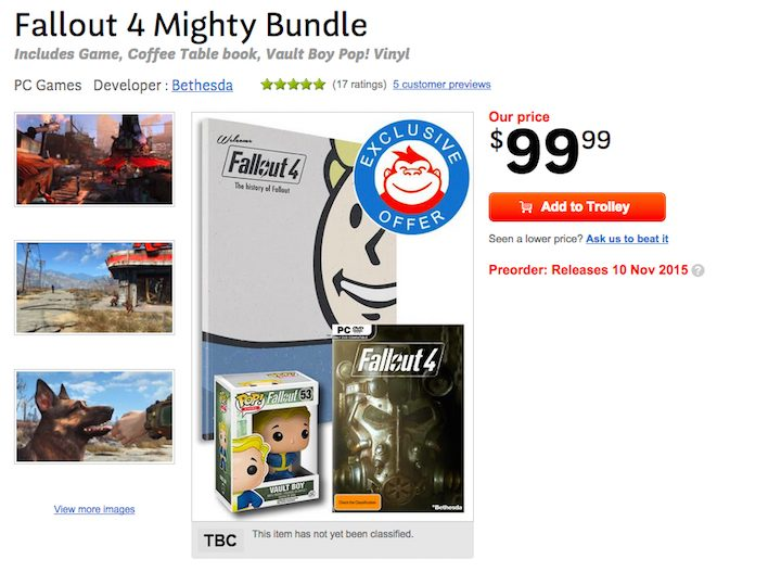 Fallout 4 Mighty Bundle for PC