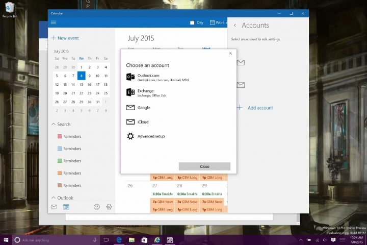 How to Add Calendars in Windows 10 (10)