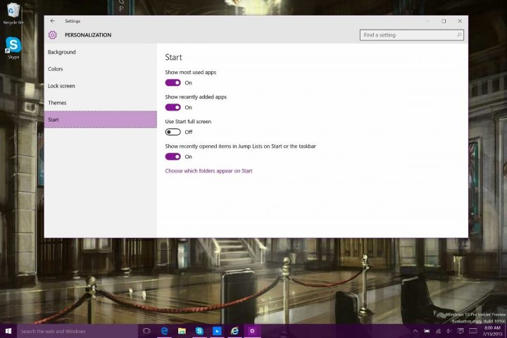 How to Bring Back the Start Screen in Windows 10 (9)