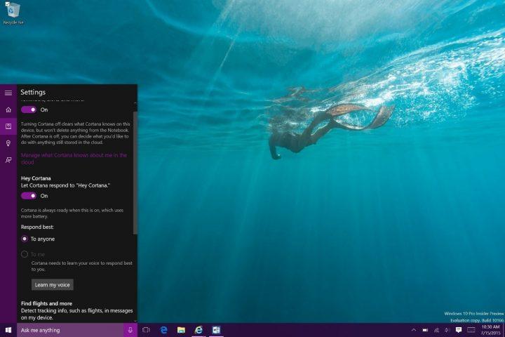 How to Use Hey Cortana with Windows 10 (4)