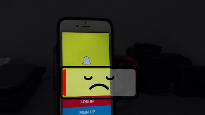 The snapchat update brings bad battery life and other frustrations.