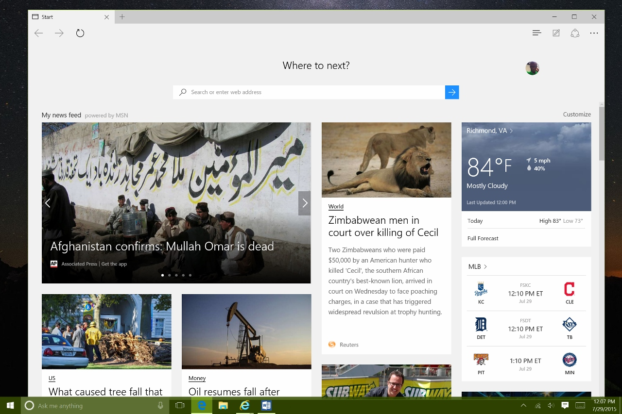 how to make google the search engine on windows 10