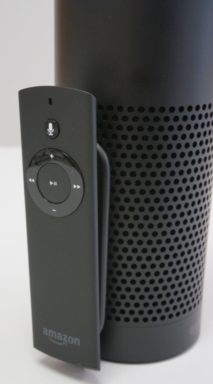 amazon echo remote attached
