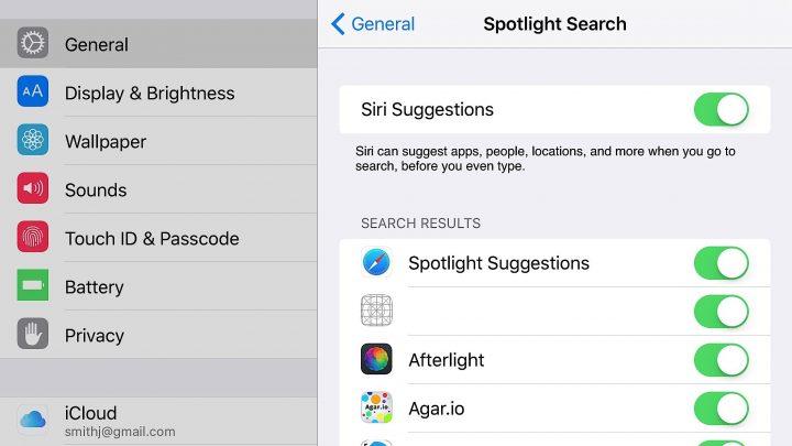 Fix a blank Proactive screen in the iOS 9 beta.