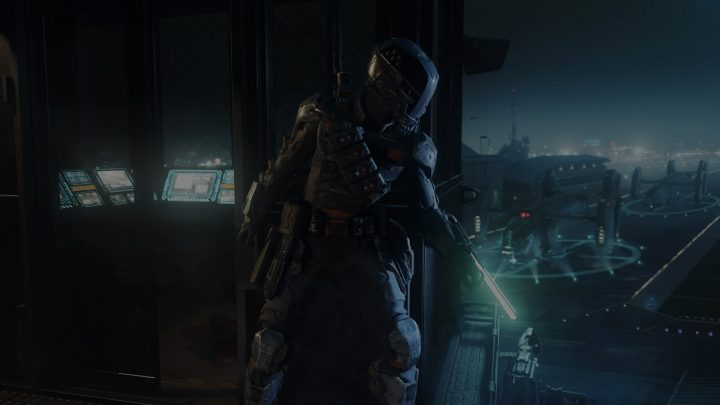 Call of Duty: Black Ops 3 specialist Spectre.