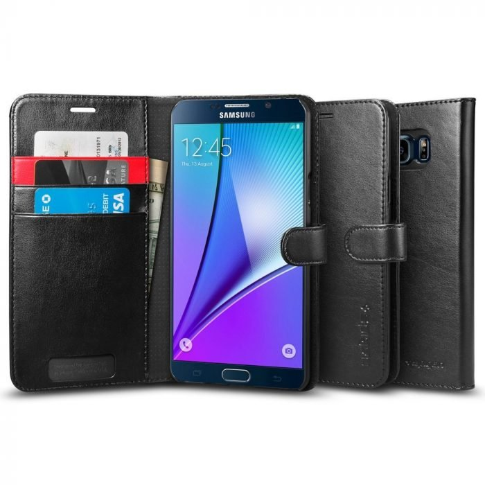 Spigen Galaxy Note 5 Wallet Case