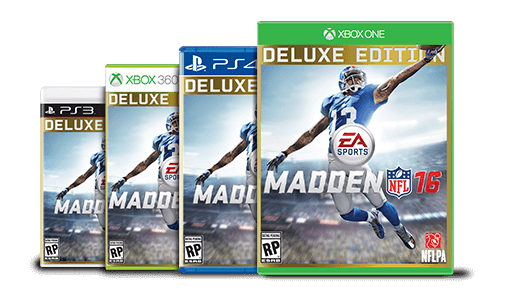If you want the Madden 16 Deluxe Edition it is a good idea to pre-order.