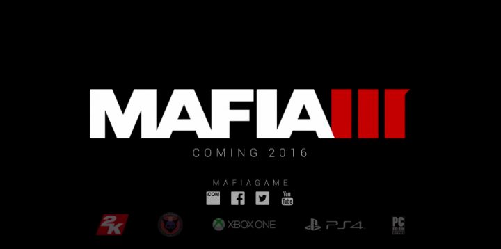 Mafia 3 for PS4, Xbox One and PC