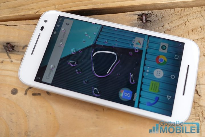 The 2015 Moto G is water-resistant