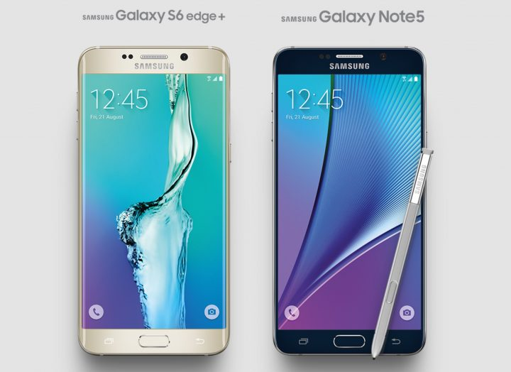 Samsung Galaxy S6 Edge+ Galaxy Note 5 Features