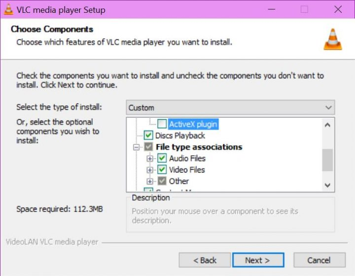 VLC Windows 10 setup