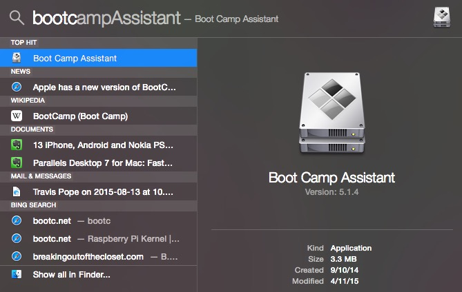 Use the Windows 10 Bootcamp Assistant to install or upgrade to Windows 10.