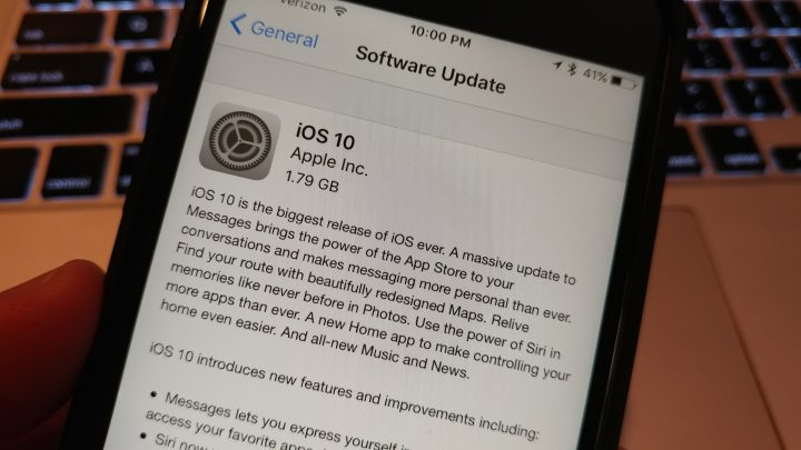 How long will the iOS 10 update take to install?