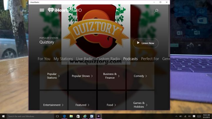 How to Listen to Podcasts in Windows 10 (2)