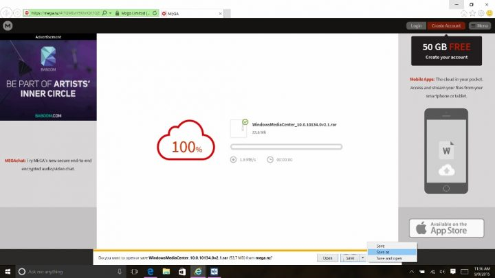 How to get Windows Media Center Back in Windows 10 (3)