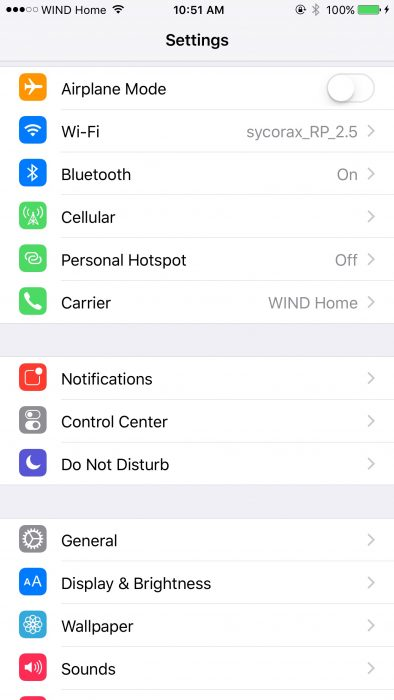 How to Disable Wi-Fi Assist