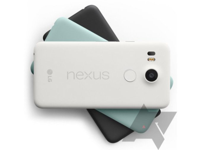 This is the Nexus 5X in three colors