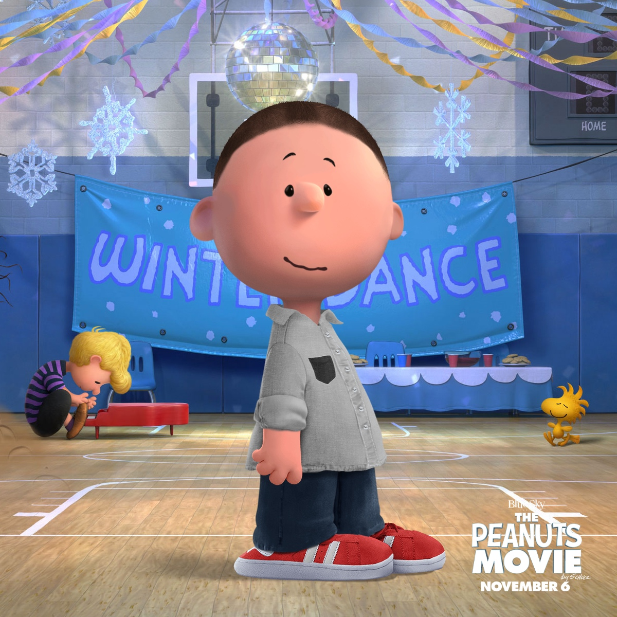 Turn your self into a Charlie Brown look-alike with the Peanutize Me app on the web.