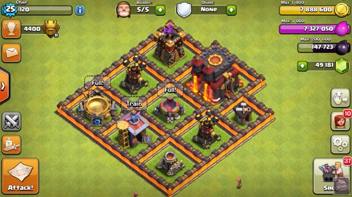 Level 11 Walls Look & Lava Hound Changes