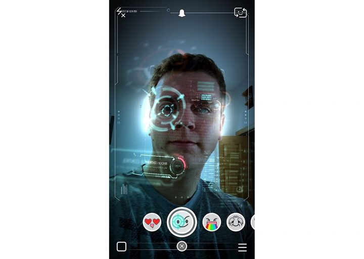 Terminator Genesis Snapchat Lens