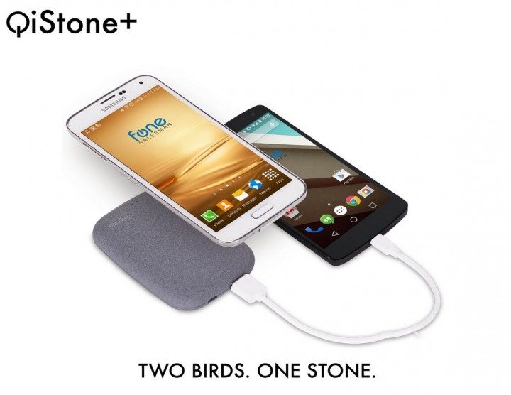 QiStone+ Charger and Battery