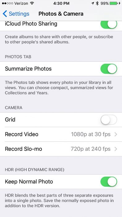 iOS 9 Settings to Change - 9
