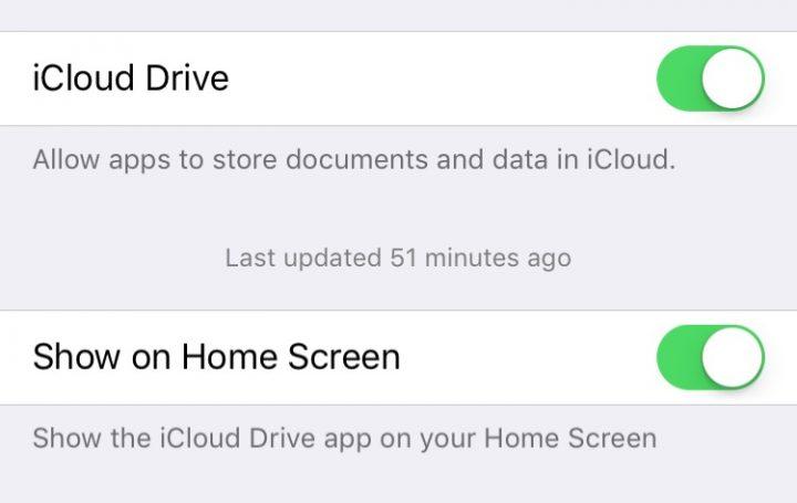 iOS 9 tips - iCloud Drive