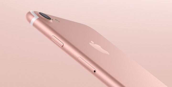Rose Gold and Jet Black are interesting fashion color choices for the iPhone 7.