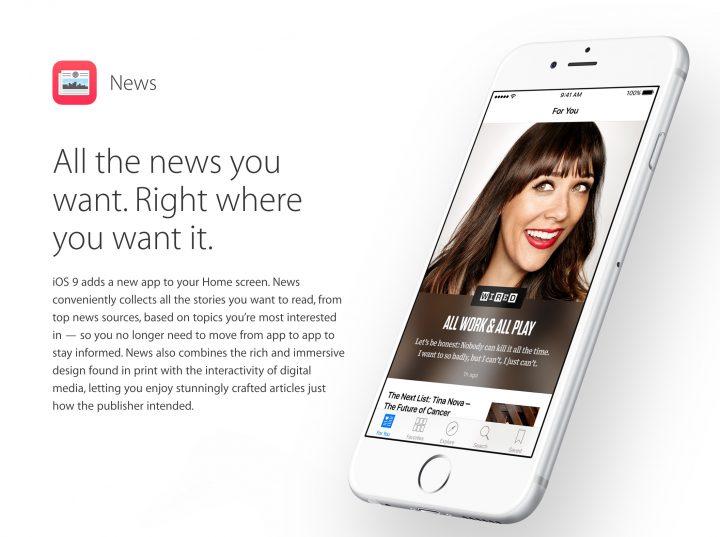 News App in UK