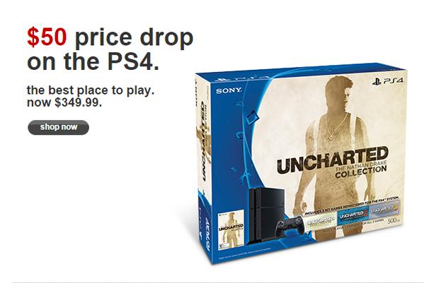 $50 PS4 price drop leaked.
