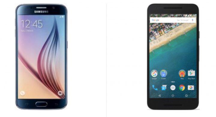 Nexus5xvsS6