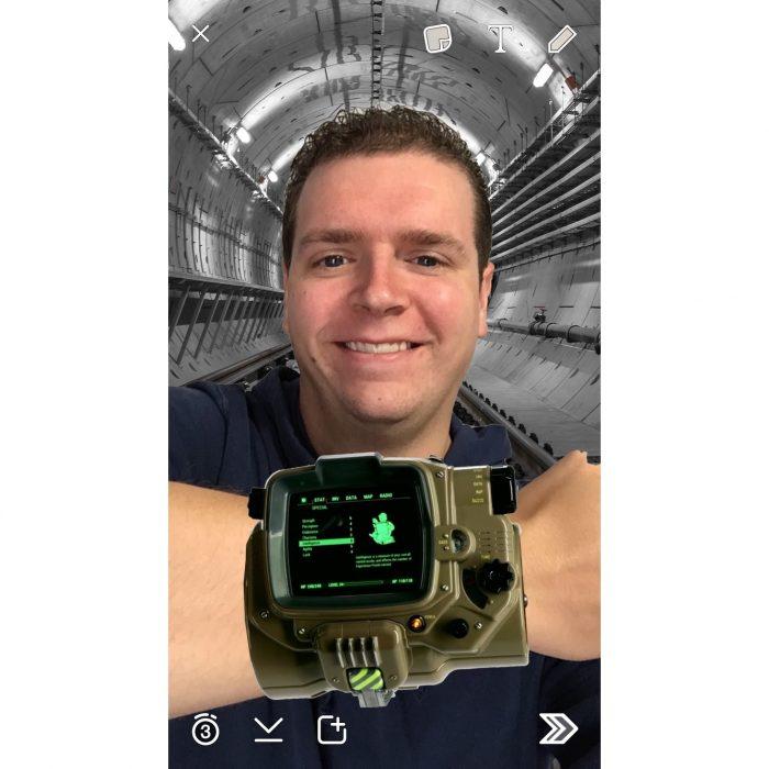 Fallout4 & VaultBoy Snapchat Lenses