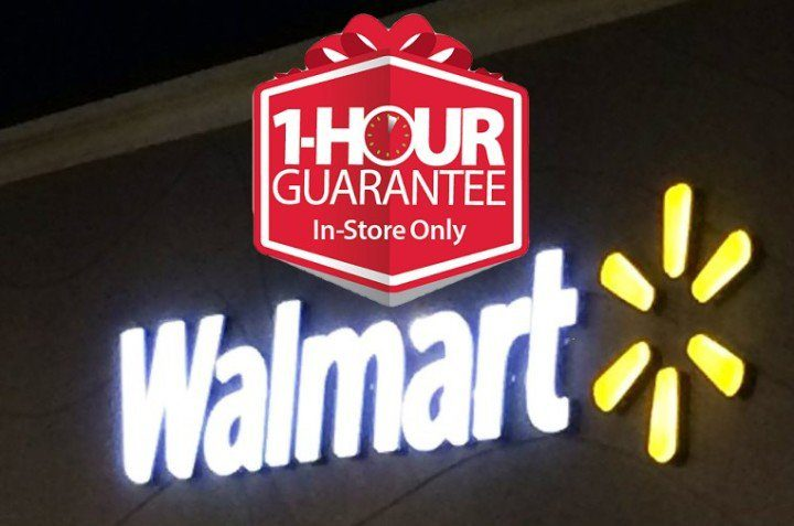 Count on 1 hour special deals for Walmart Black Friday 2016.