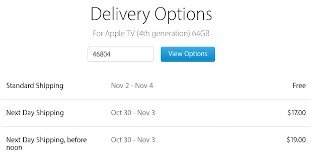 New Apple TV Orders Shipping This Week