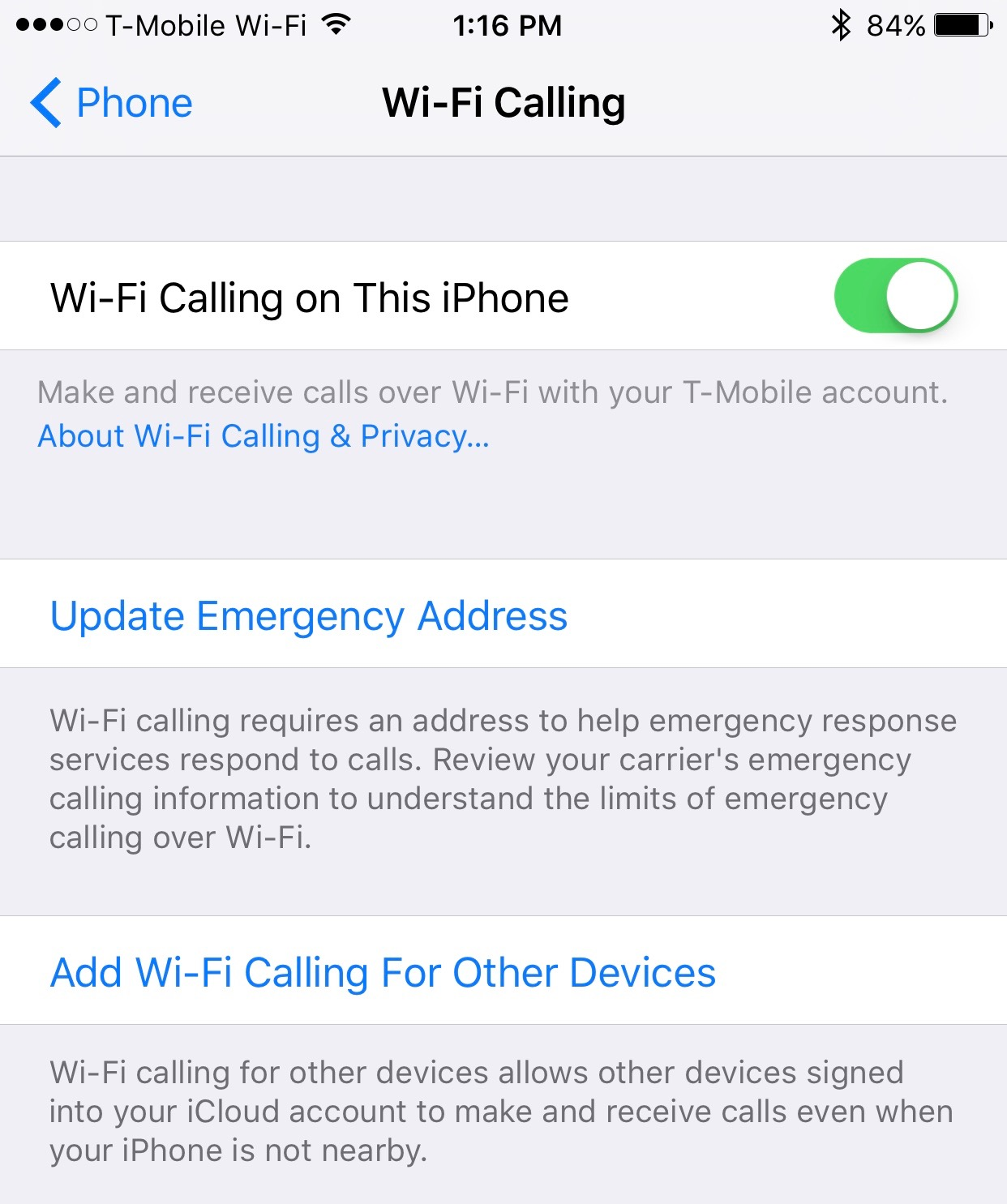 wi-fi calling iphone