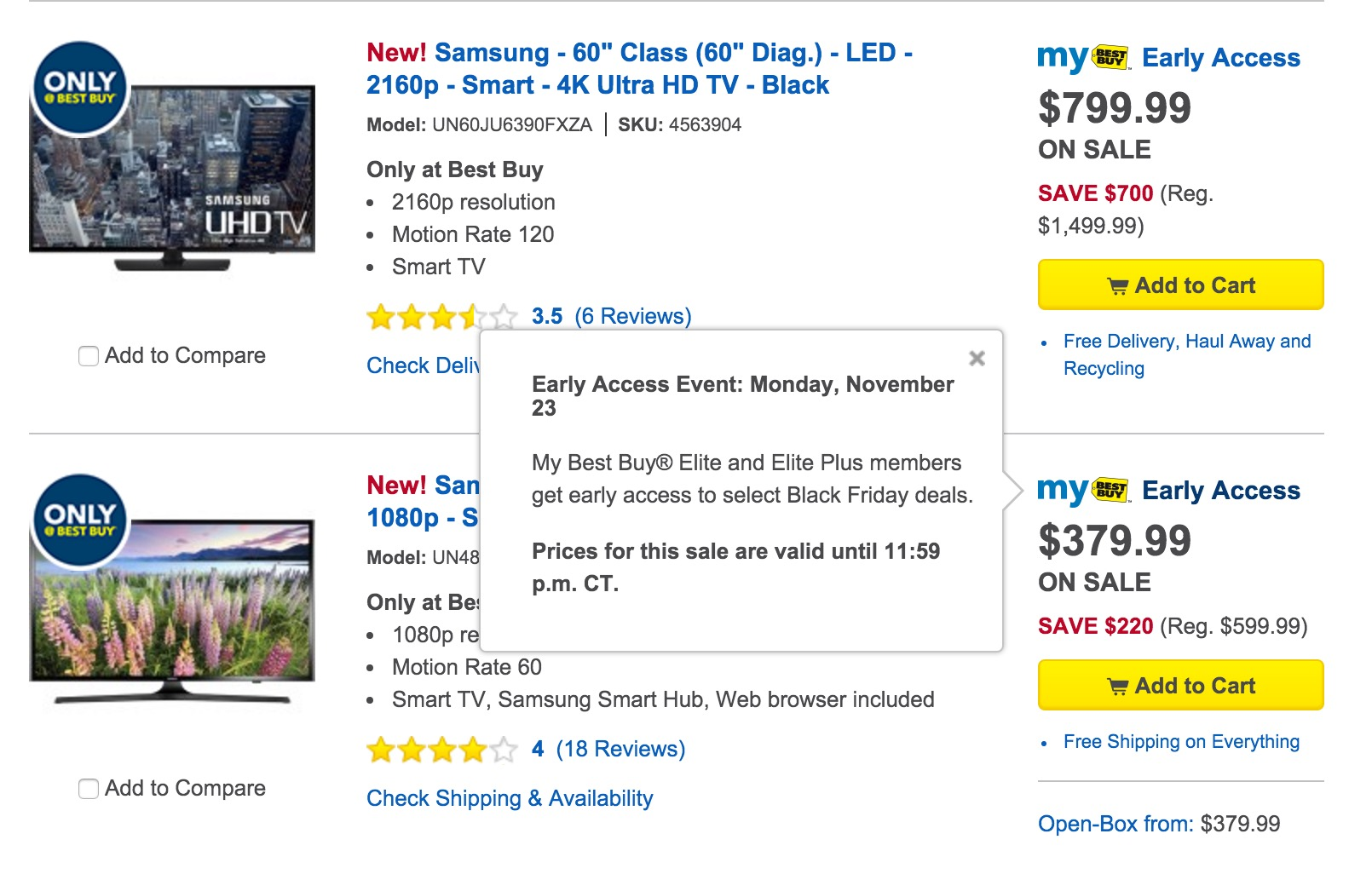 The Best Buy Black Friday 2015 ad is live for reward members online.