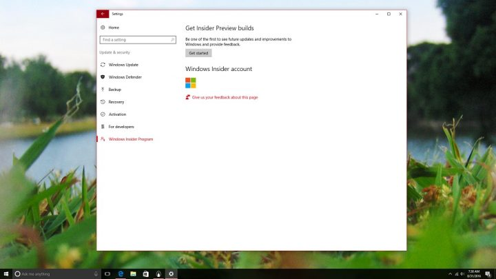 How to Get Windows 10 Updates Early in Windows Insider (5)