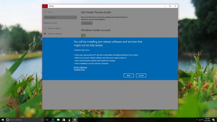 How to Get Windows 10 Updates Early in Windows Insider (6)