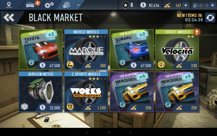No-limits-market