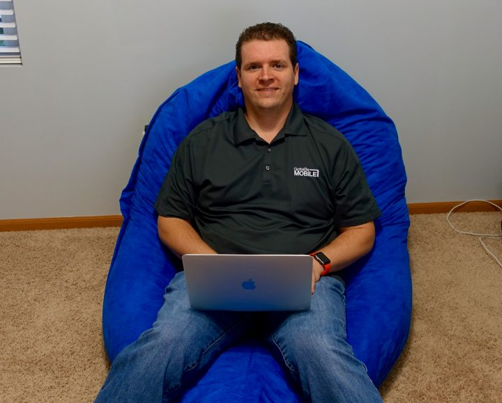The Sumo Lounge Omni Plus is great as a relaxing office chair.