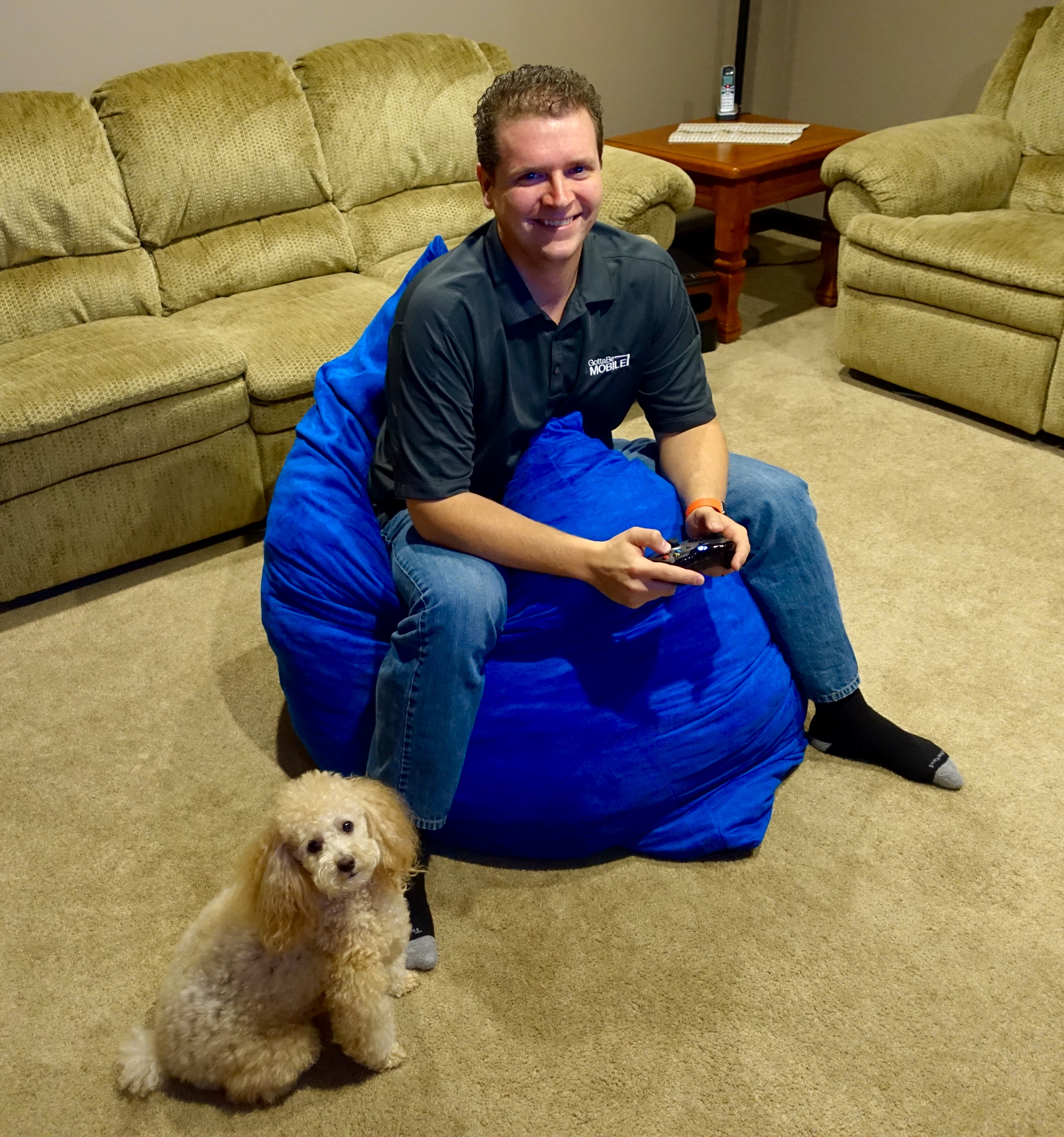 I like using the Sumo Lounge Omni Plus as a gaming chair.