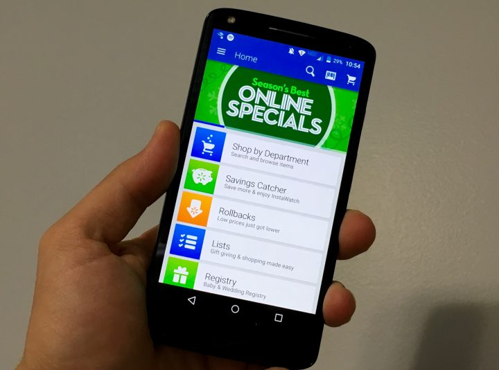 The Walmart app will prepare you for Black Friday 2015 deals.
