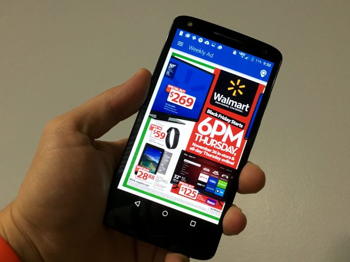 See the Walmart Black Friday 2015 ad first on your phone.