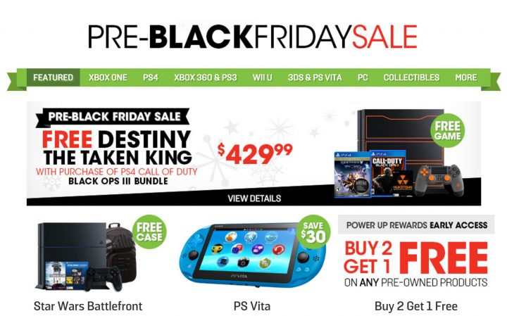 game stop black friday 2015