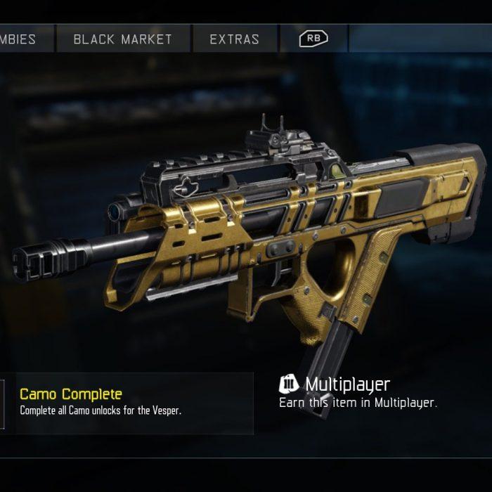 Get Gold Guns in Black Ops 3