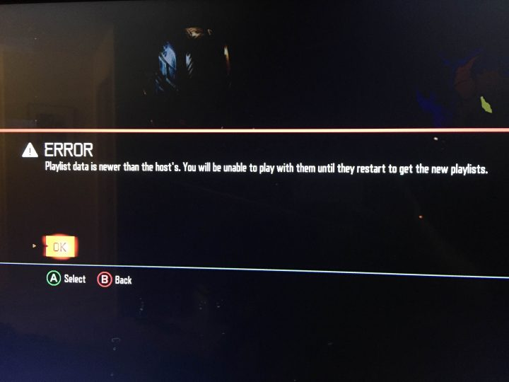 Black Ops 3 Problems - Playlist Data