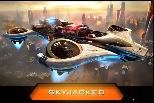 Skyjacked Black Ops 3 map.